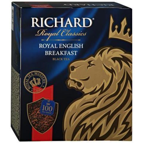 Чай черный «Richard» Royal English Breakfast 100 пакетиков