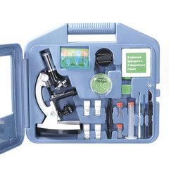 Детский микроскоп в кейсе Микромед 100x-900x