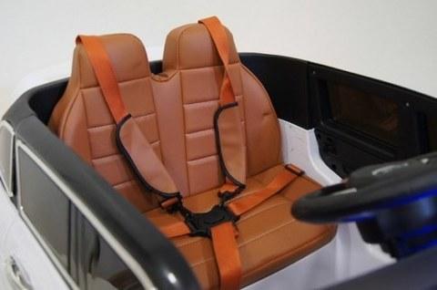 Детский электромобиль Rivertoys RANGE ROVER SPORT E999КХ белый E999KX-WHITE
