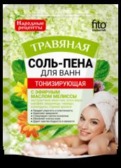 Соль-пена для ванн Тонизирующая Травяная 200 г. ТМ Фитокосметик