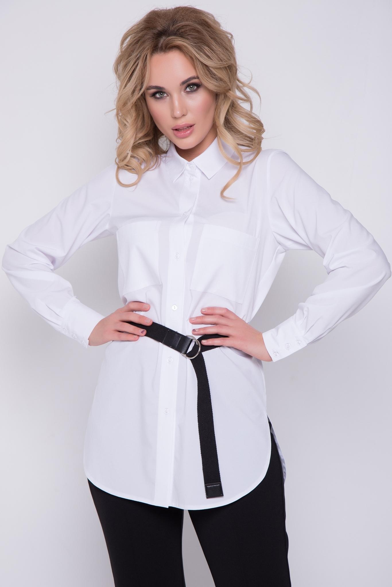 """Рубашка """"Модная"""" (белая)"""