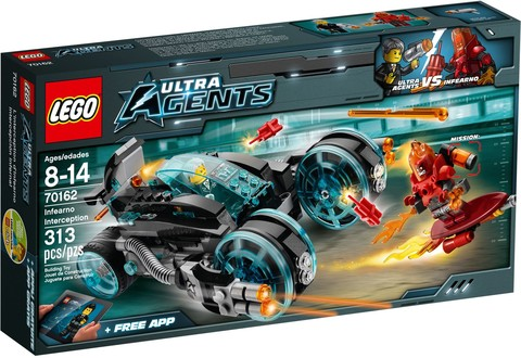 LEGO Ultra Agents: Перехват Инферно 70162 — Infearno Interception — Лего Ультра Эджентс Ультра Агенты