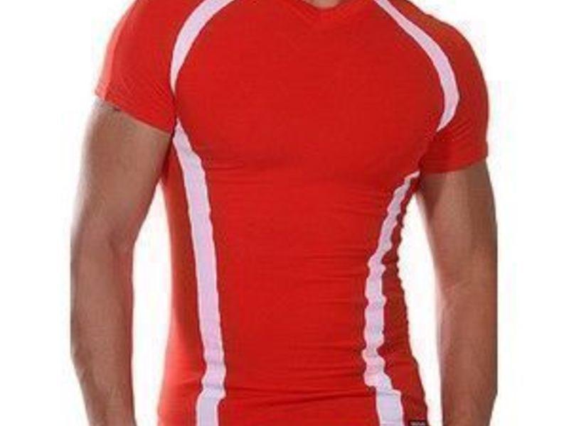 Мужская футболка красная Doreanse 2527 Red
