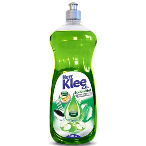 Herr Klee C.G. гель для мытья посуды Зеленое яблоко 1 л.