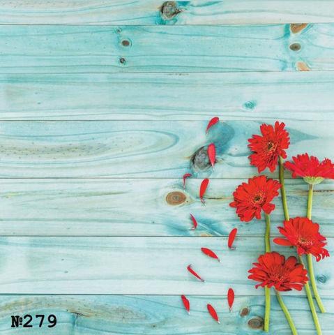 Фотофон виниловый «Хризантемы» №279