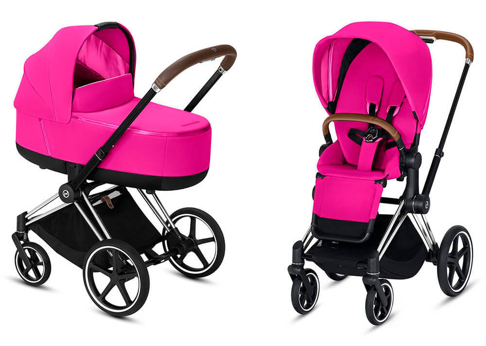 Цвета Cybex Priam 2 в 1 Детская коляска Cybex Priam III 2 в 1 Fancy Pink шасси Chrome cybex-priam-iii-2-in-1-fancy-pink-chrome.jpg