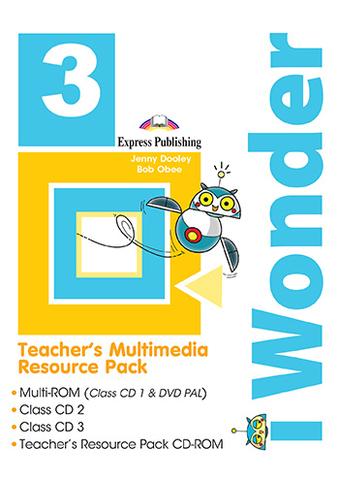 iWonder 3 - Teacher's Multimedia Resource Pack (set of 4)
