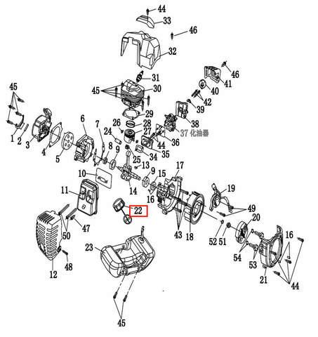 Крышка топливного бака  для лодочного мотора T2 SEA-PRO