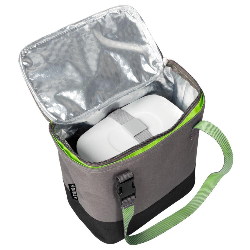 Takk Mamma Lunch Box Set in Thermo Bag, green