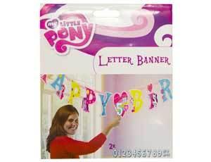 Гирлянда-буквы My Little Pony 1,8м