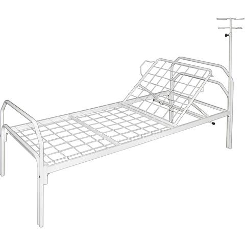 Кровать медицинская с подголовником М180-28 - фото