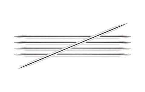 Спицы KnitPro Nova Metal чулочные 4,0 мм/20 см 10109