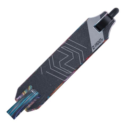 Трюковой самокат Novatrack Pixel multi-color
