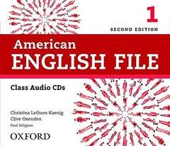 AM ENGLISH FILE  2ED 1 CL CD(4)