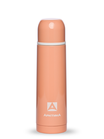 Термос Арктика (0,5 литра) с узким горлом, коралловый