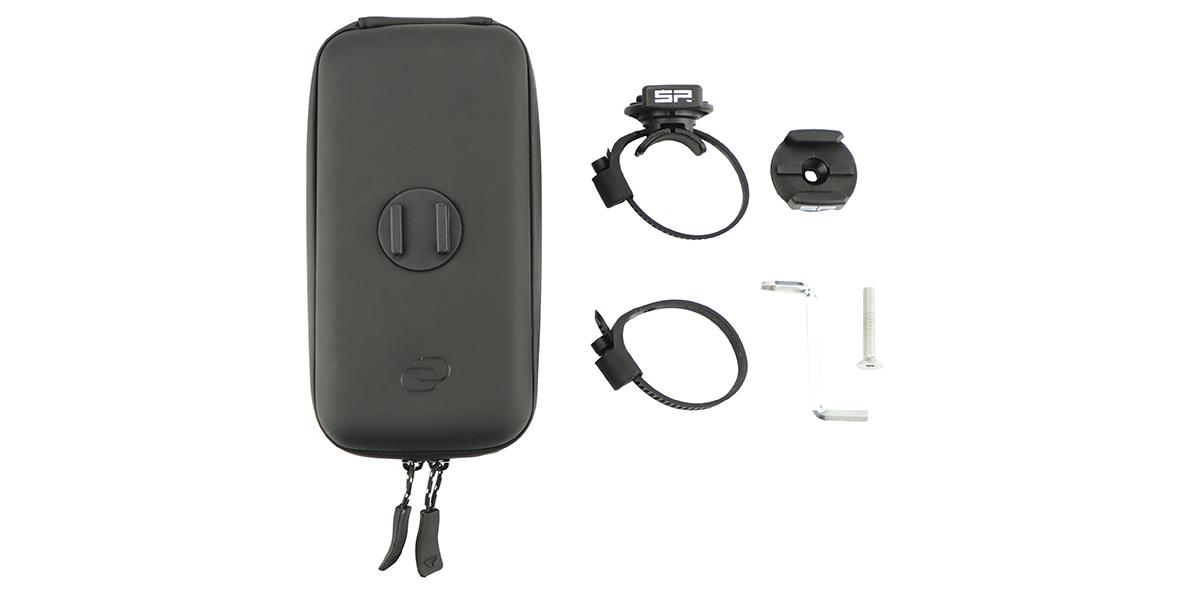 Кейс для велосипеда с держателем для смартфона SP Wedge Case Set комплектация