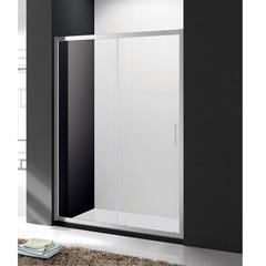 Дверь душевая раздвижная в нишу 130х190 см Cezares MOLVENO-BF-1-130-C-Cr-IV фото