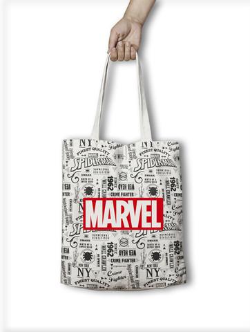 Хлопковая сумка Человек-Паук