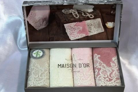 Набор салфеток JASMİNE - ЖАСМИН  в размере 30*50 Maison Dor (Турция)