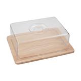 Доска разделочная с пластиковой крышкой 25 х 20 х 8 см, артикул 8032, производитель - Hans&Gretchen