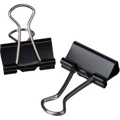 Зажимы для бумаг Attache 19 мм черные (12 штук в коробке)