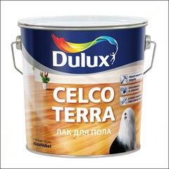 Лак для пола Dulux CELCO TERRA 45 полуглянцевый (Прозрачный)