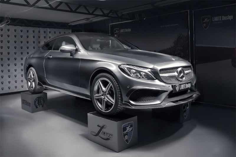 Обвес Larte Design для Mercedes C-class coupe