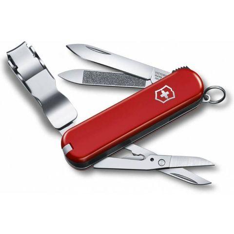 Нож перочинный Victorinox NailClip 580 (0.6463) 65мм 8функций красный
