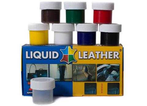 Жидкая кожа Liquid Leather - набор для ремонта кожаных изделий