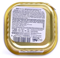 Консервы (ламистер) Almo Nature Daily Menu Bio - Pate Chicken&Vegetables