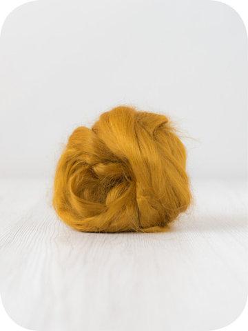 Волокна крапивы для валяния. Шафран