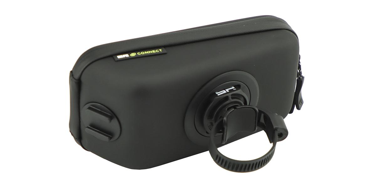 Кейс для велосипеда с держателем для смартфона SP Wedge Case Set + крепеж-хомут