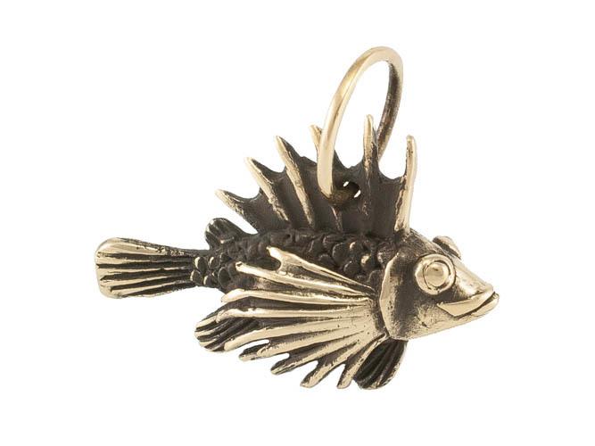 Авторские украшения Рыбка Ерш кулон RH-796.jpg