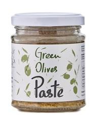 Оливковая паста из зеленых оливок Attika Food 180 гр