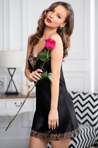 Короткая сорочка Mia-Amore Amanda 3630 (70% шелк)