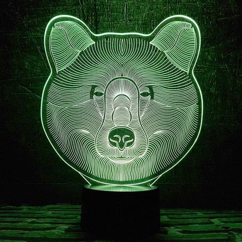 Ночник Медведь