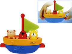 Кораблик-брызгалка для ванны (K's Kids, KA423)