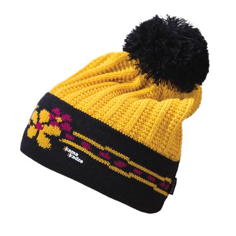 Картинка шапка Kama K54 Yellow
