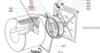 Ремень 1810 J3 Contitech для стиральной машины Whirlpool (Вирпул) 1810мм, черный, белая надпись, V-RIBBED