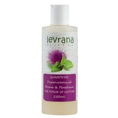 Шампунь для волос укрепляющий Мята и репейник 250ml,ТМ Levrana