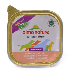 Консервы (ламистер) Almo Nature Daily Menu Bio - Pate Salmon