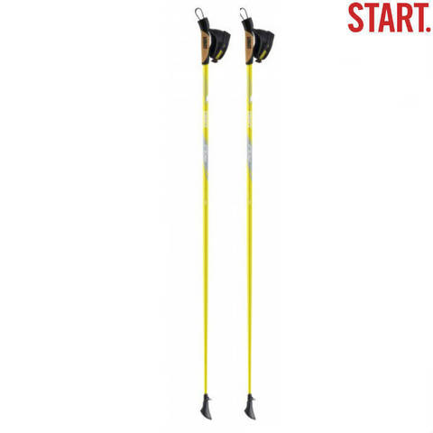 Скандинавские палки Start Core Composite Yellow Финляндия