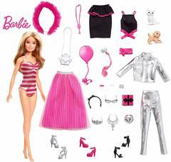 Кукла Barbie и 24 сюрприза Адвент Календарь