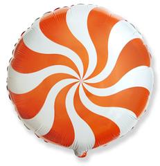 F Мини-круг, Леденец, Оранжевый, 9''/23 см, 5 шт.