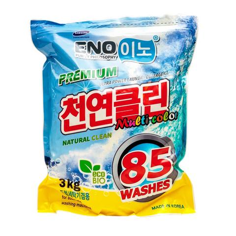 Стиральный порошок концентрированный для цветного белья Sky Chemical ENO Multi Color 3 кг