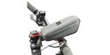 Кейс для велосипеда с держателем для смартфона SP Wedge Case Set на руле вид сбоку