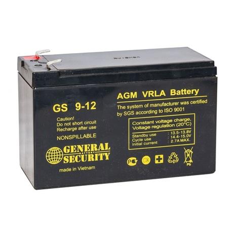 Аккумулятор GS 9-12 (12В 9А/ч)