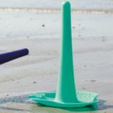 Универсальные грабли для пляжа Quut Triplet зеленый