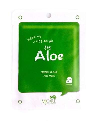 MIJIN MJ CARE Маска тканевая с алое MJ CARE  Aloe Mask