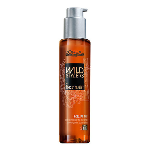 L'Oreal Professionnel Wild Stylers Scruff Me - Желе для создания эффекта взъерошенных волос